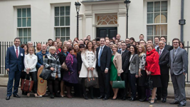 Small Business Saturday UK 2013 - Small Business 100 visit to Downing Street