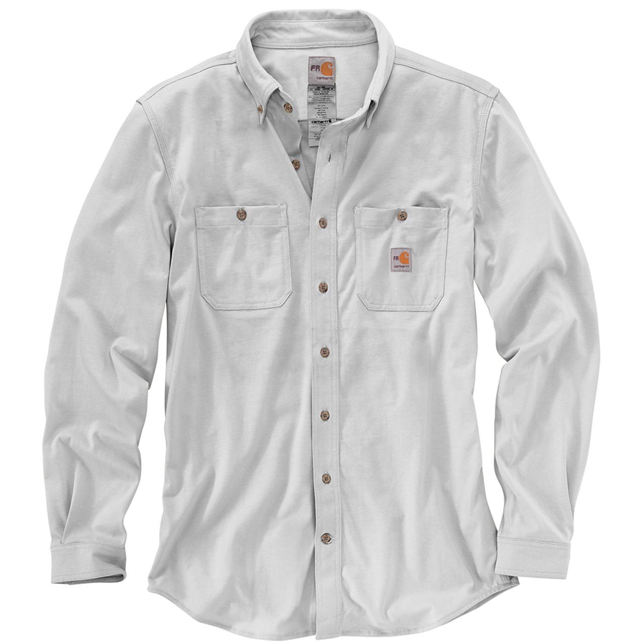 101698 Mens Flame Resistant Force Cotton Hybrid Shirt