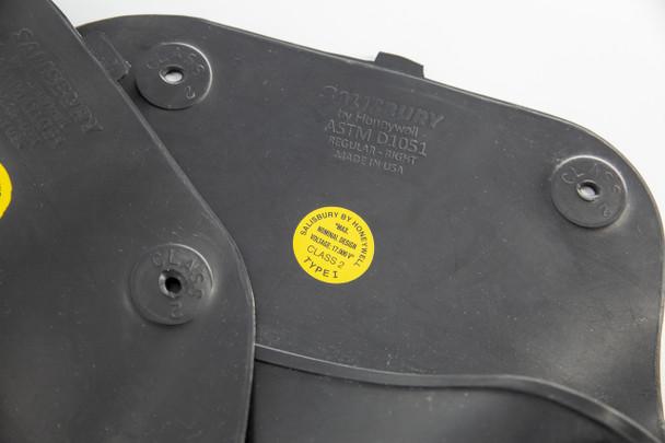 Salisbury Rubber Molded Sleeve - Black - Large - 2LB
