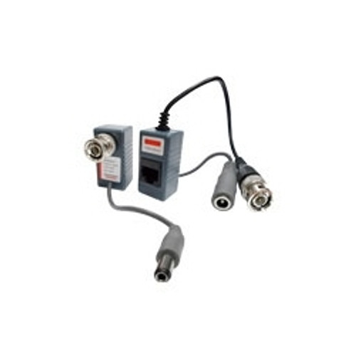 CCTV UTP Category 5 to BNC Video Balun with Power - 318-137