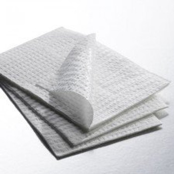 Towel Polyback 2ply white