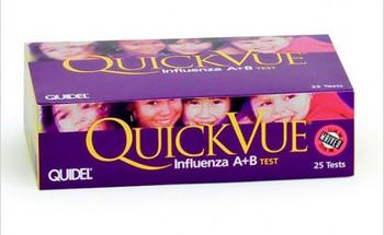 QuickVue Influenza Test