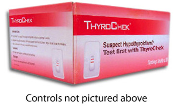 ThyroChek Thyroid Testing Controls