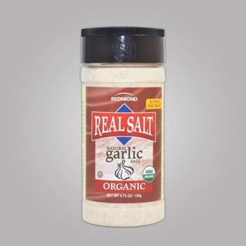 Redmond REAL Salt Organic Garlic Salt