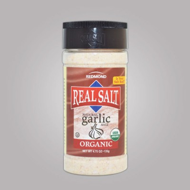Redmond REAL Salt Organic Garlic Salt