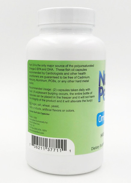 OmegaPerfect by NutraPerfect - directions