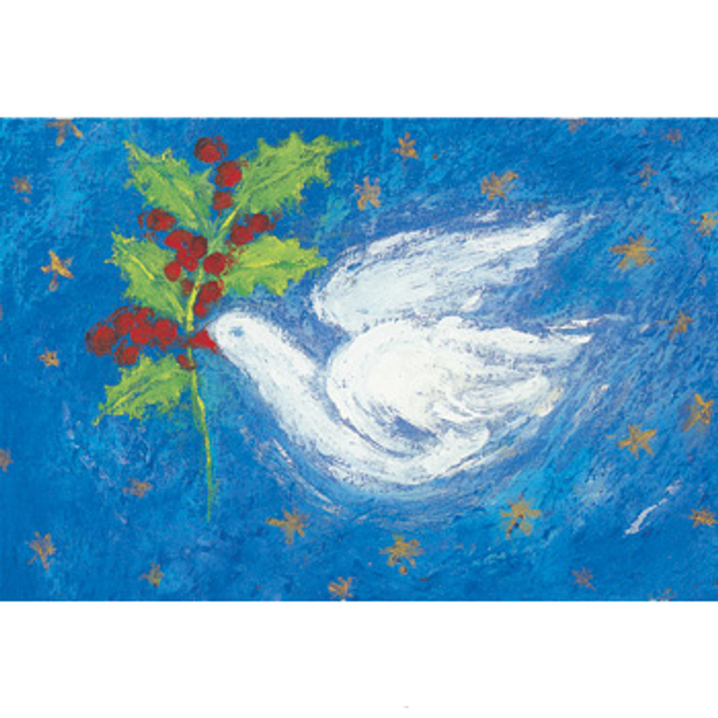 Dove of Peace postcard by M. v. Zeyl