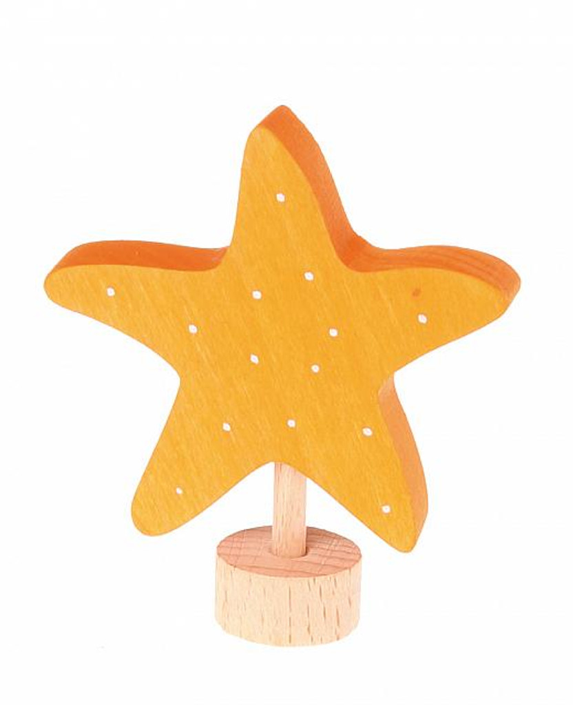 starfish ornament for birthday ring