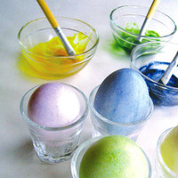 Easter Egg colouring kit