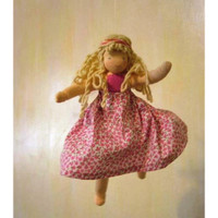 dancing flower fairy doll