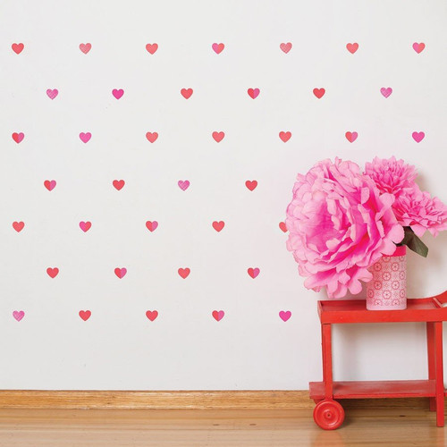 Shop by brand petit collage nest petit hearts wall decals gumiabroncs Choice Image