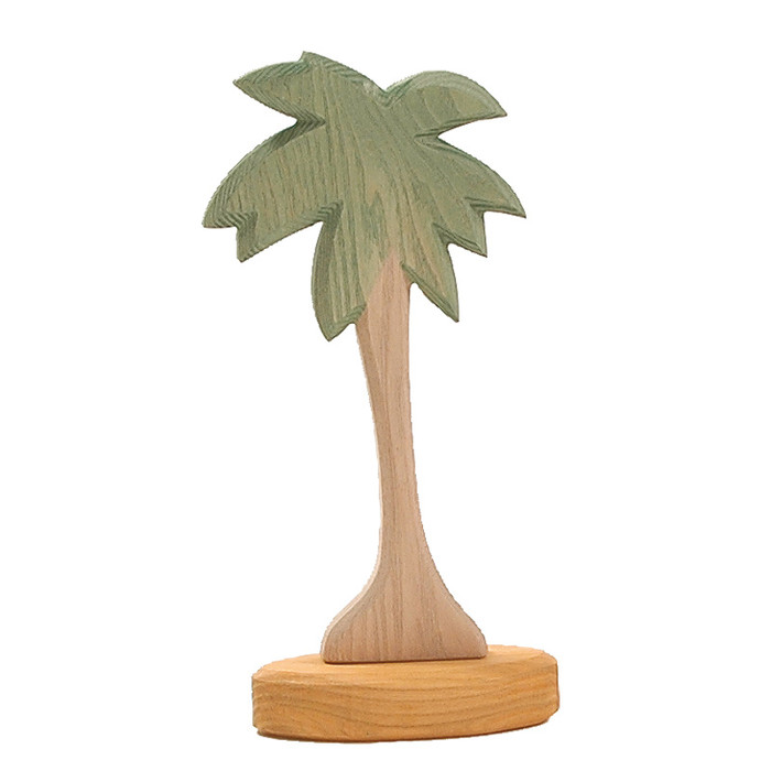 Ostheimer palm tree I with support