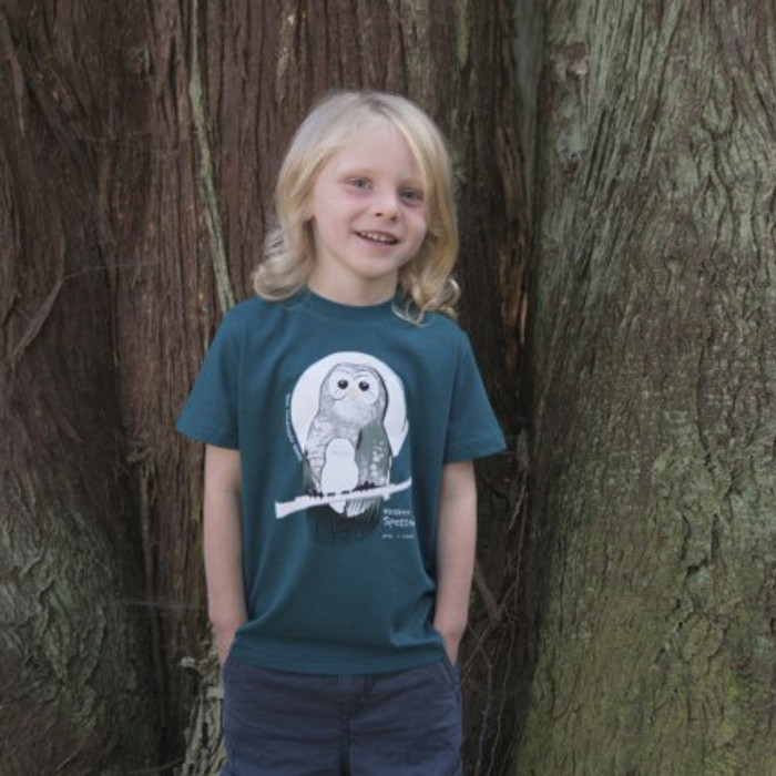 Northern Spotted Owl fair trade organic cotton tee