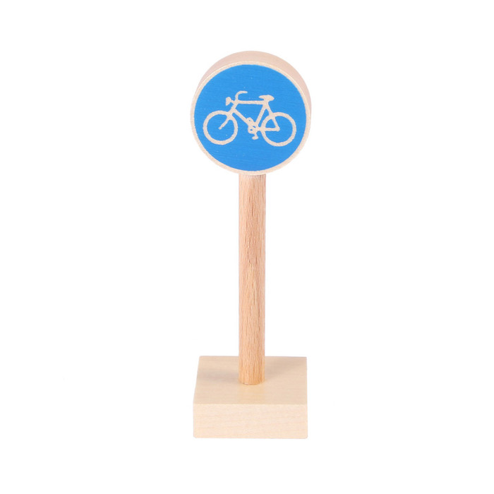 cycling route sign