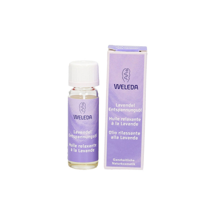 Weleda lavender oil, travel size.  Made in Germany.