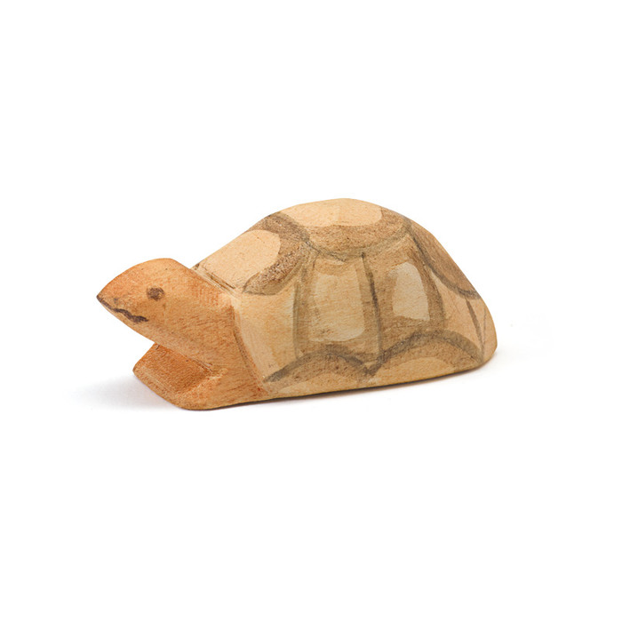 Ostheimer small turtle.  2.4 cm high x 5.8 cm long.  Made in Germany.