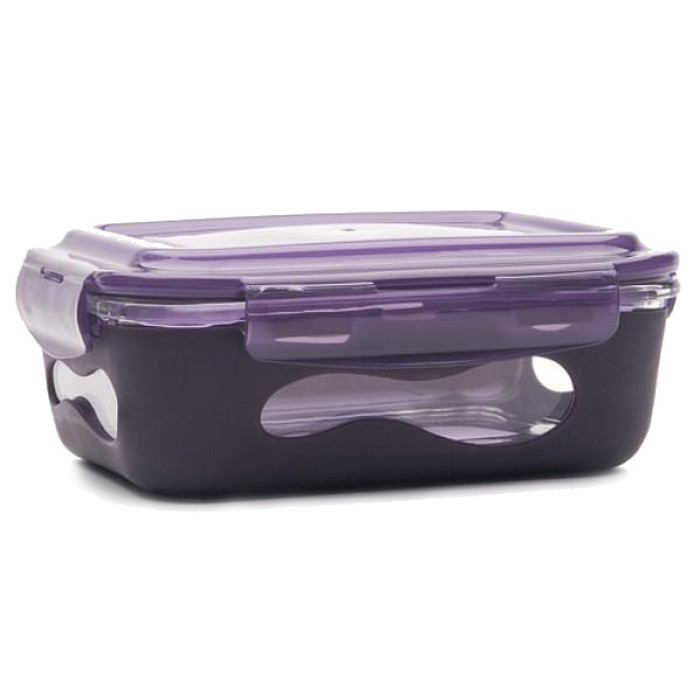 U Konserve 1.06L Glass Food Container with SIlicone Sleeve