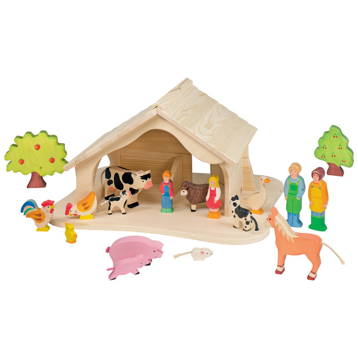 Holztiger stable/ doll's house