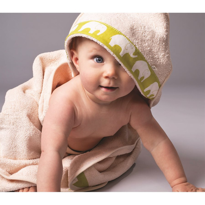 child's hooded bath towel