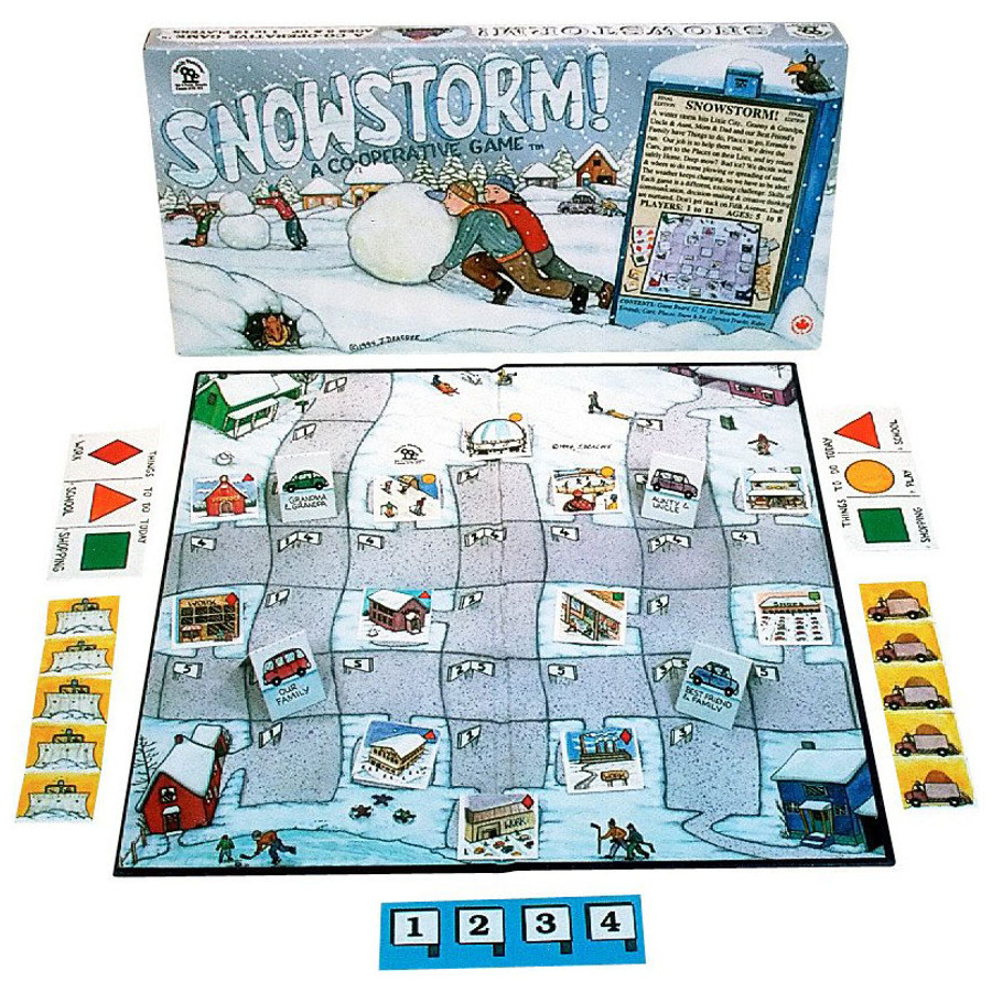 Family Pastimes Snow Storm board game