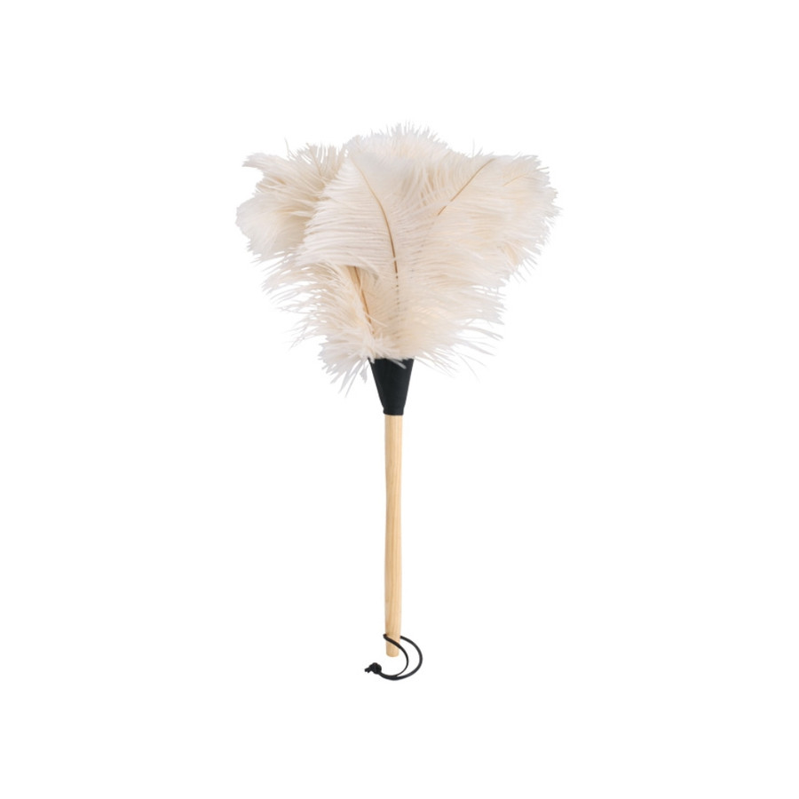large ostrich-feather duster