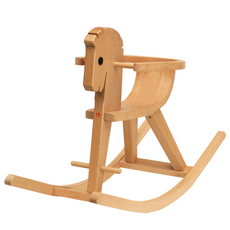 Kinderkram Ostheimer rocking horse with arm rest