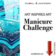 May 2018 Art Inspires Art Manicure Challenge - Mrs. Color Berry