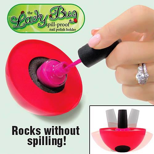 The Ladybug Spill Proof Nail Polish Holder