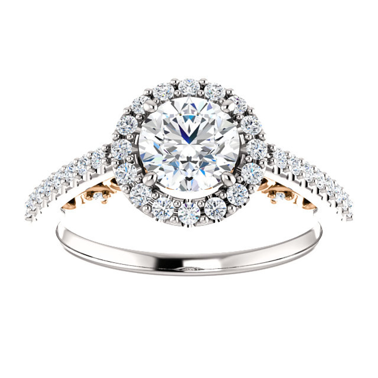 engagement diamond products enhanced collections princess white gold large solitaire cut ring