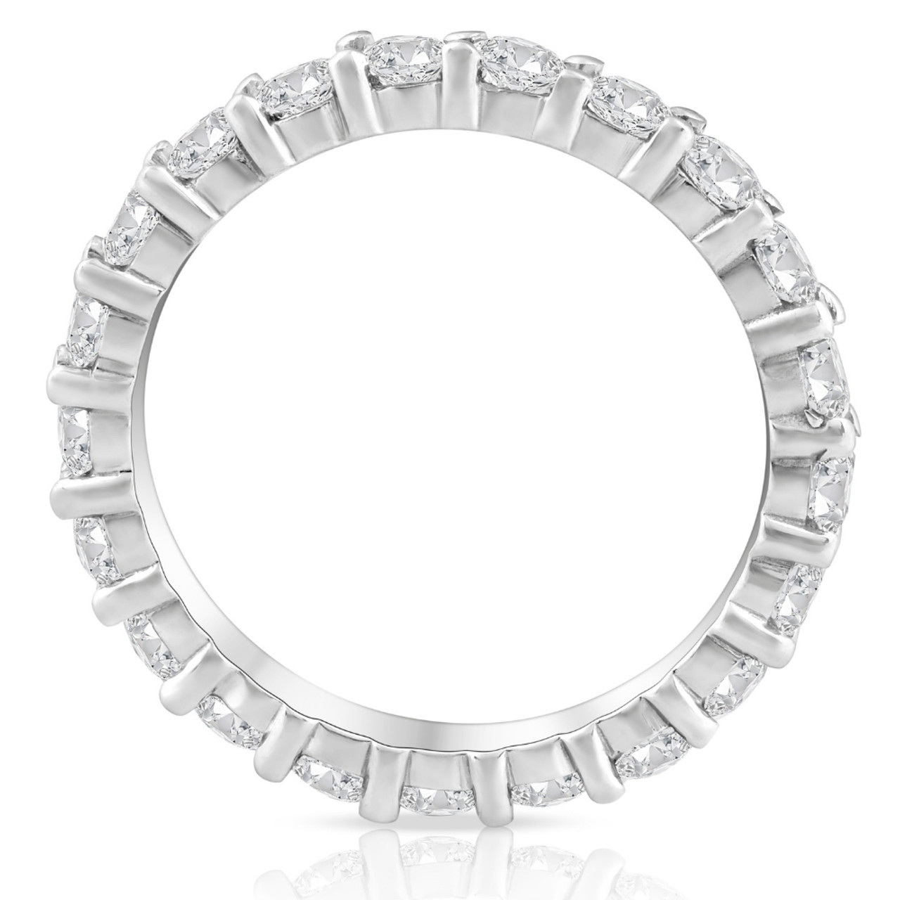 in carat diamond chloe watch eternity platinum bands band ring