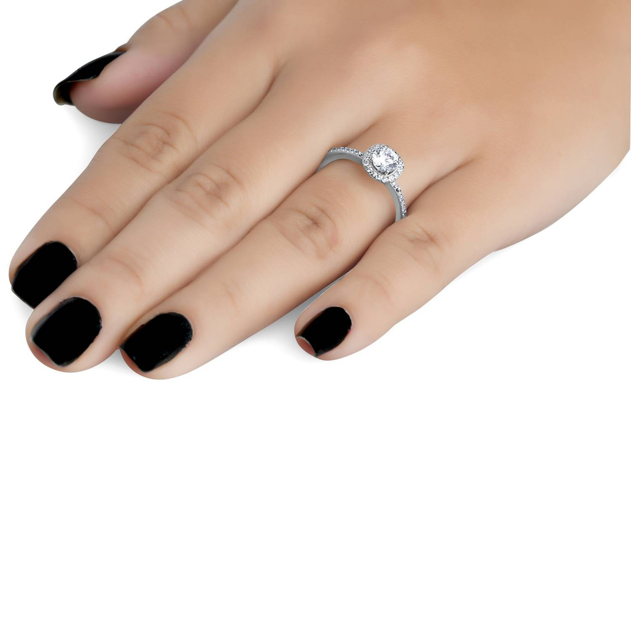 cut solitaire princess myneolife me engagement diamond ring tag ct