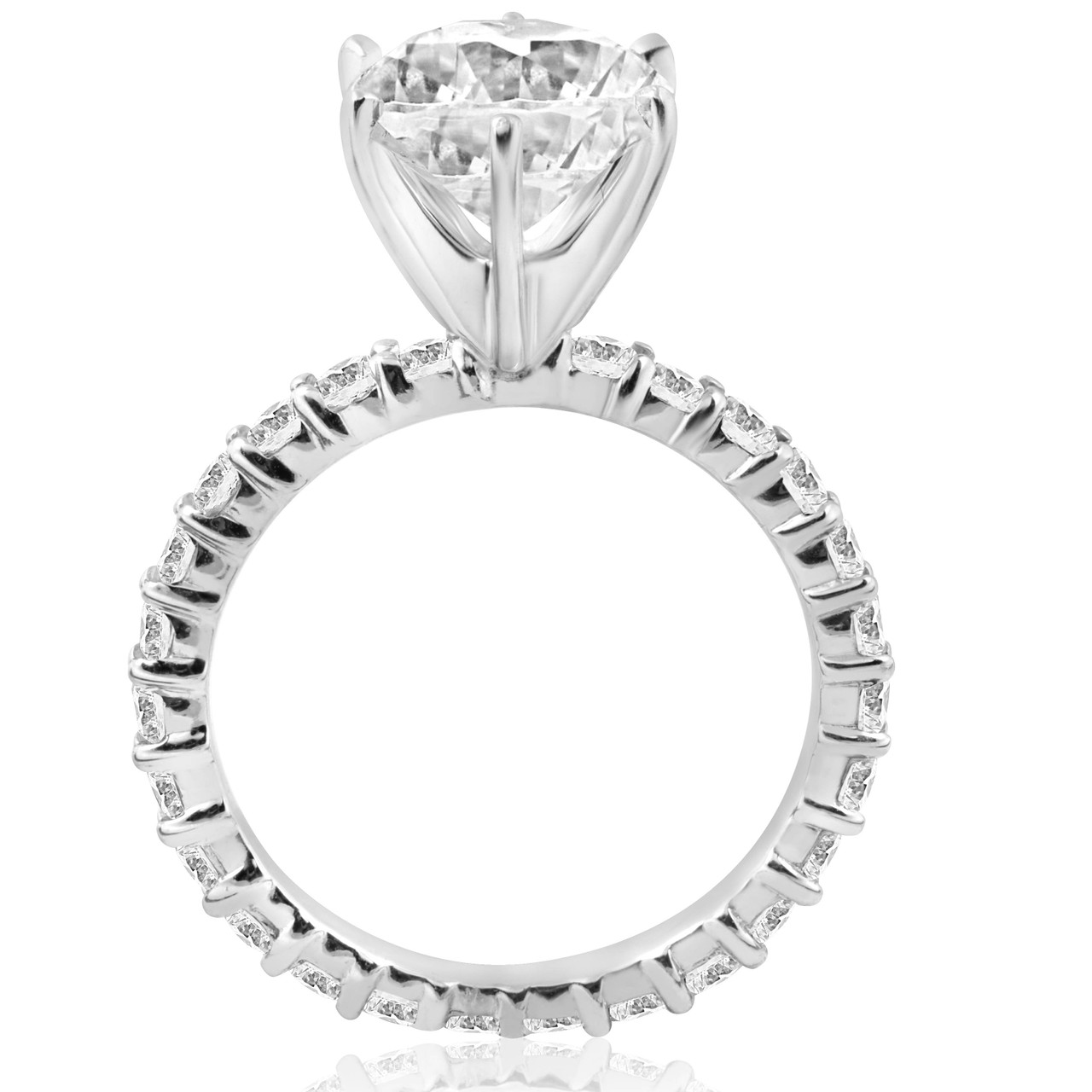 ct diamond ring wedding rng large square round rings cut