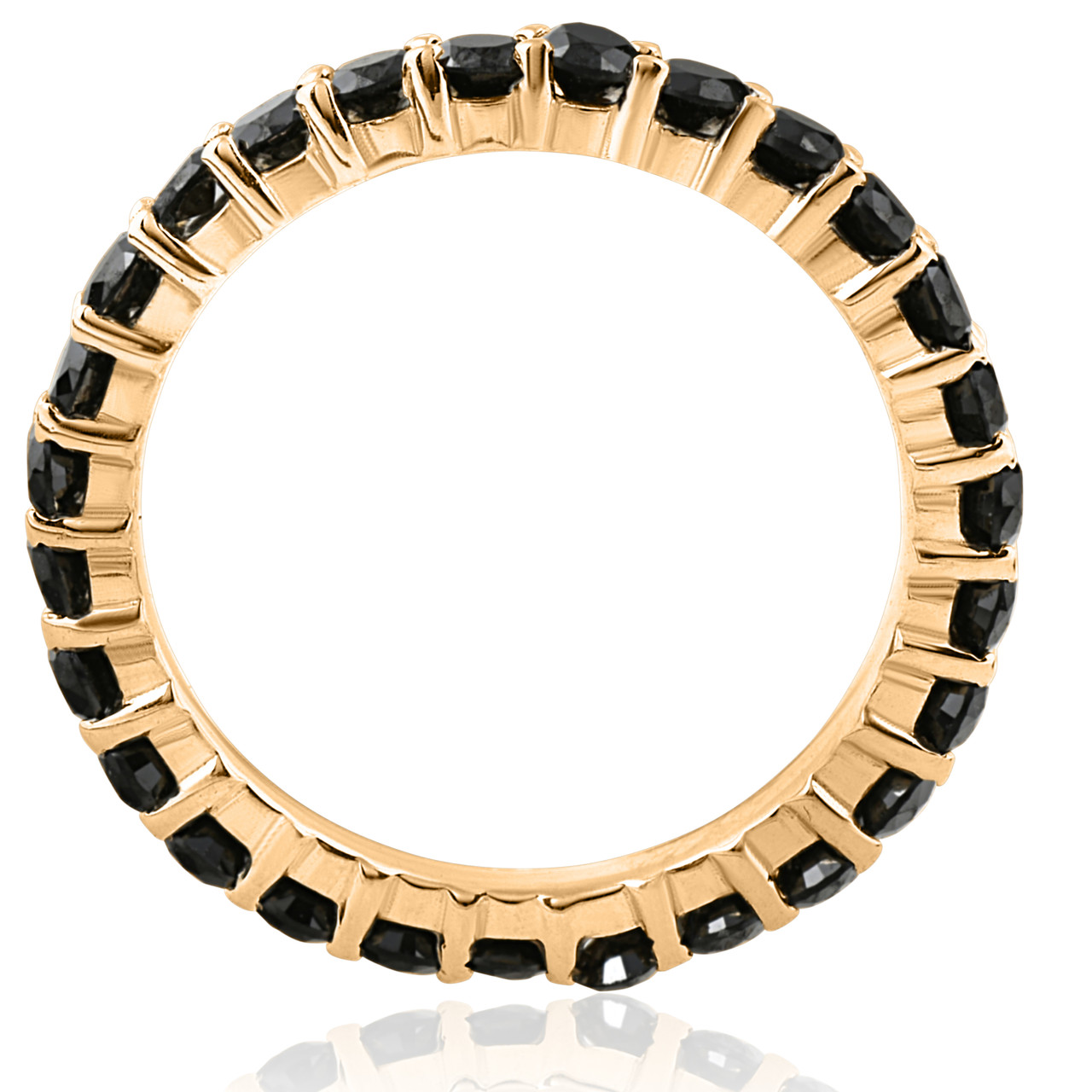 oxidized black p betteridge ivanka eternity band ring tw trump diamond ct thin bands