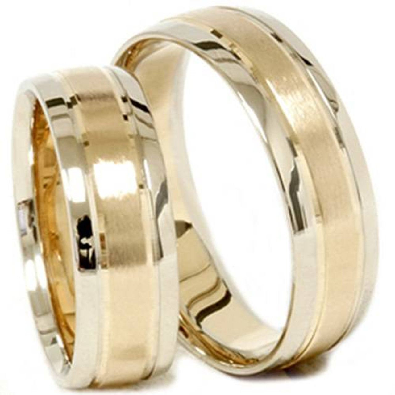 sets engagement ring round split wedding rings band two cut