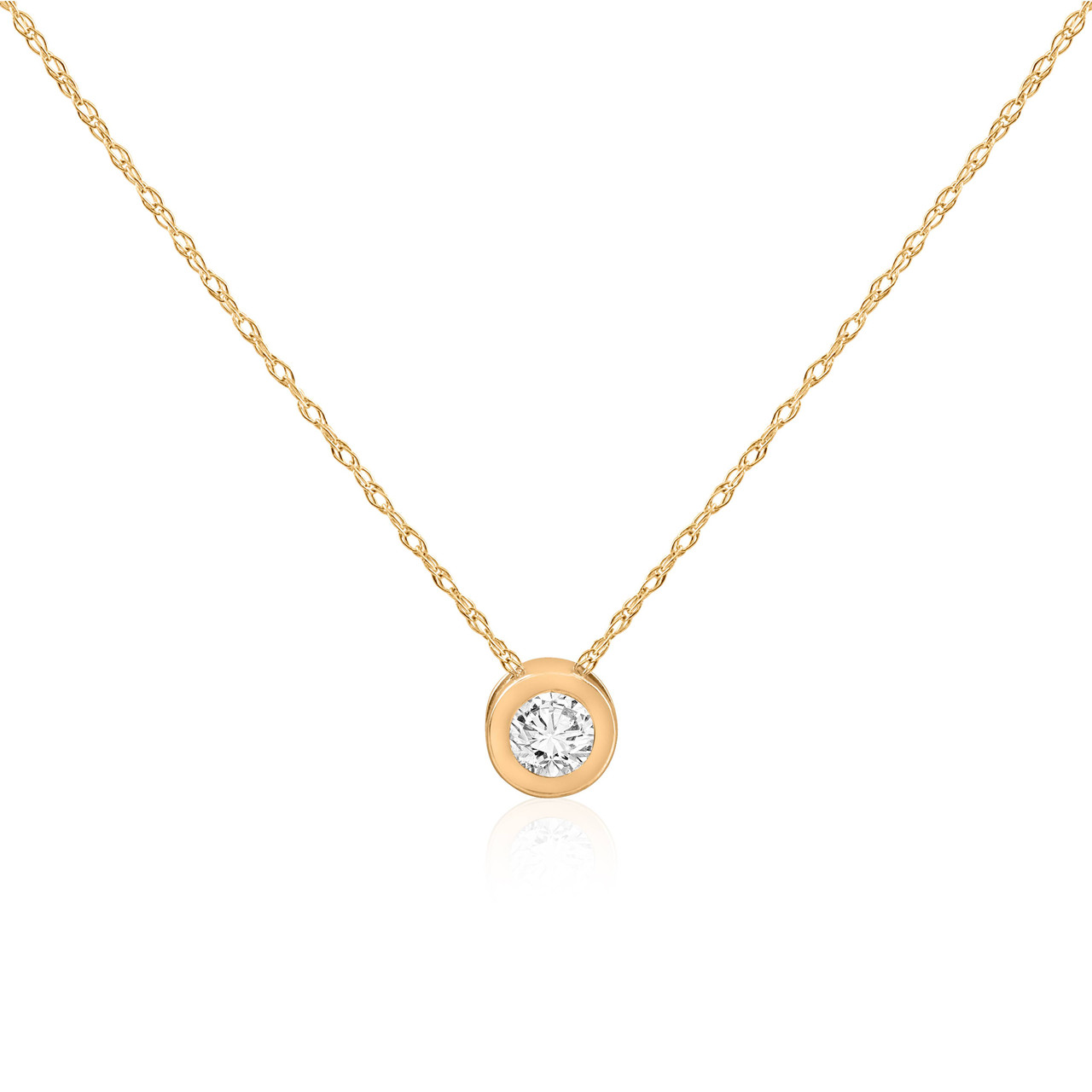 carat solitaire necklace bezel fullxfull gold il pendant description diamond listing