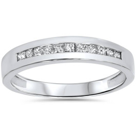 .40CT Princess Cut Diamond Ring 14K White Gold (G/H, I2)