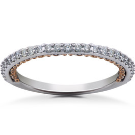 1/4 ct Lab Grown Diamond Wedding Ring (F, VS)