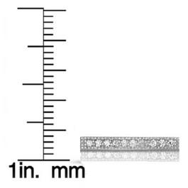 1/16ct Diamond Bar Pendant Necklace 14K White Gold (G/H, I2)