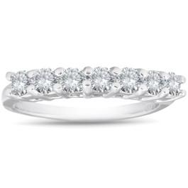 .65CT Diamond Wedding Ring 950 Platinum (F/G, VS1-VS2)