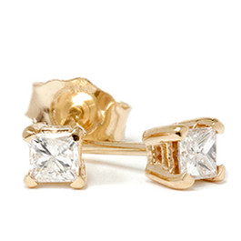 1/3ct Diamond Studs 14K Yellow Gold (G/H, SI2-SI3)