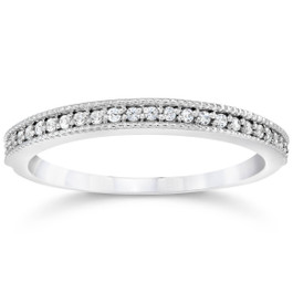 1/3ct Diamond Ring 14K White Gold (G/H, I2-I3)