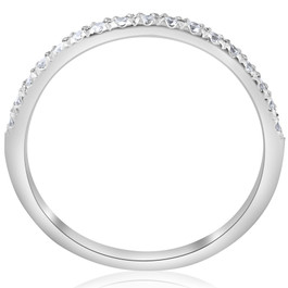 Diamond Wedding Ring 10k White Gold (H/I, I1-I2)