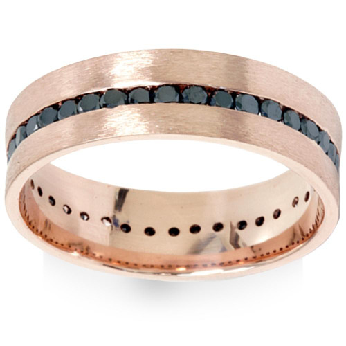 rose dsc fit grande diamond mens blue band bands wedding tungsten comfort gold with ring products diamonds and brushed