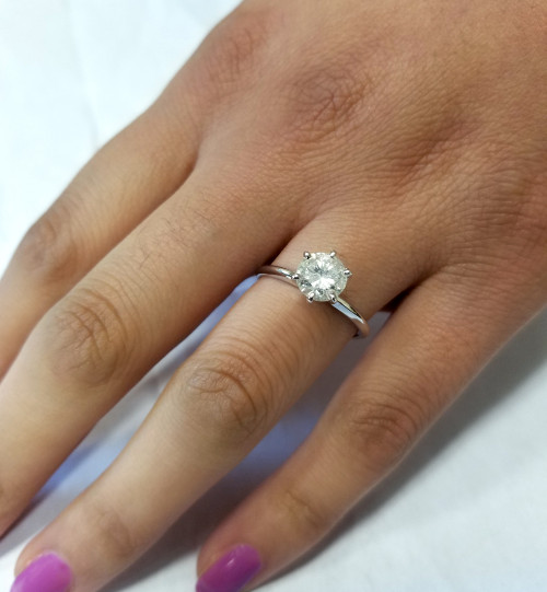 diamond engagement ring with 1/4ct solitaire diamond qHtfoU