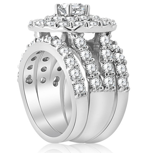 t miabella wedding silver halo cubic ring ip carat engagement rings g zirconia w sterling