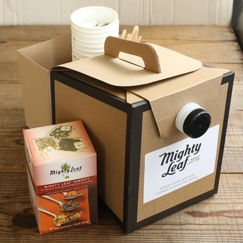 Mighty Leaf Tea To-Go Box (Serves 12)