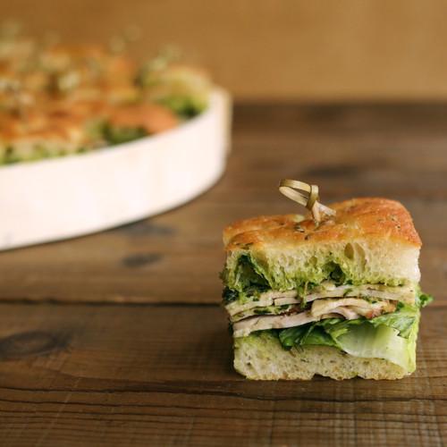 Porchetta Finger Sandwiches