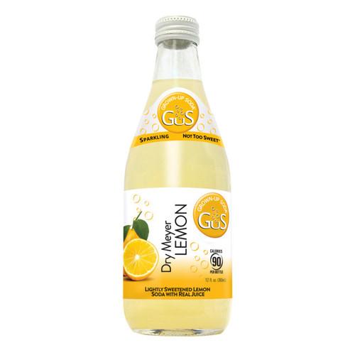 GuS Sodas Dry Meyer Lemon