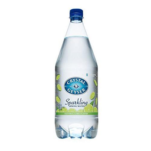 Crystal Geyser Sparkling Water - Lime