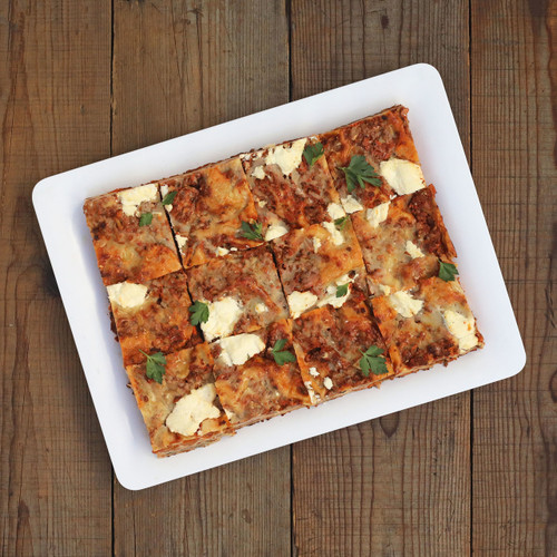 Hot - Beef and Pork Bolognese Lasagna